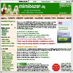 Mimibazar.sk MIMIBAZAR.sk - za pár korunačiek veľa oblečkov a ...
